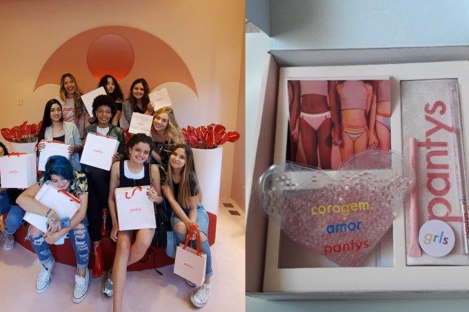Blog da Galera: visita na Pantys + dúvidas sobre calcinha absorvente