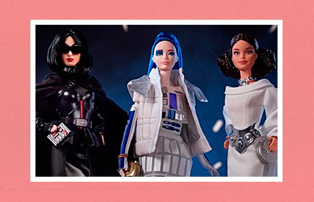 """Mattel lança coleção fashionista da Barbie dedicada à saga """"Star Wars"""""""