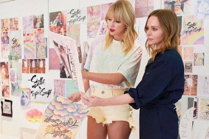 Taylor Swift lança coleção em parceria com Stella McCartney