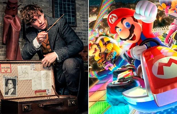 Novo parque do Universal terá áreas da Nintendo e Animais Fantásticos