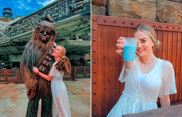 """Galaxy's Edge: conhecendo Batuu e provando o leite azul de """"Star Wars""""!"""