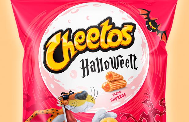 Cheetos lança salgadinho sabor churros para comemorar o Halloween