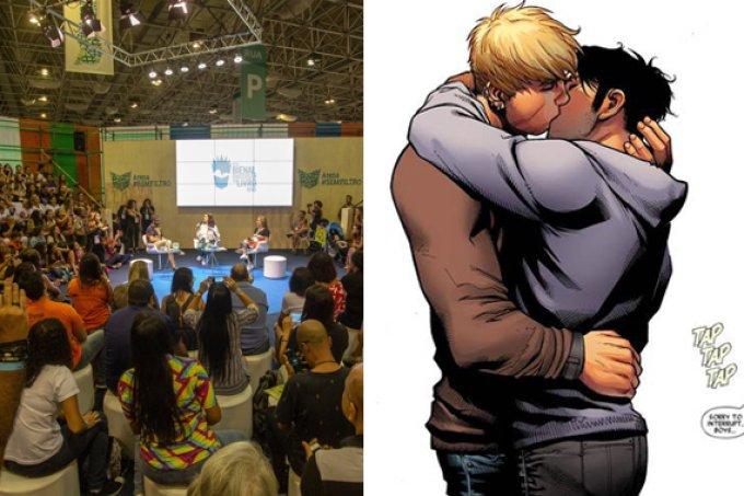 Prefeitura do Rio tenta vetar HQ com beijo gay