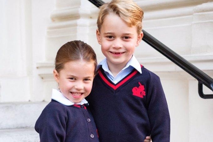 princesa-charlotte-principe-george-primeiro-dia-de-aula