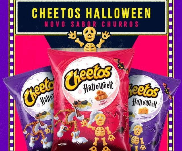 Cheetos sabor churros (R$ 2,99* cada).