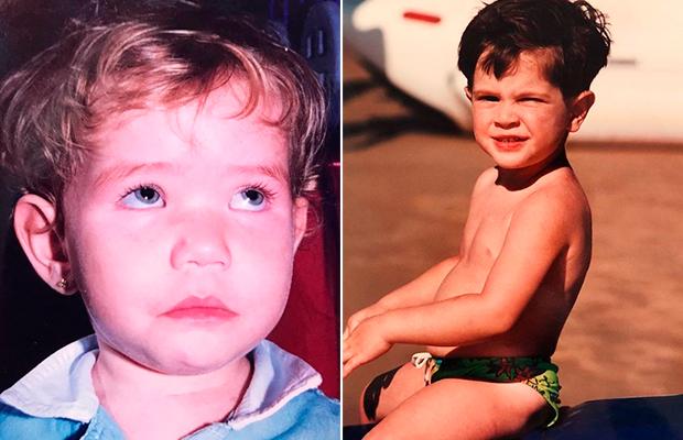 #throwback: as fotos nostálgicas postadas pelos famosos no Dia das Crianças