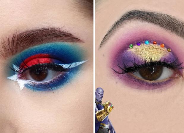 maquiagem-inspirada-vingadores