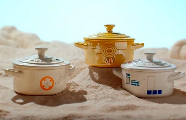 Nós não precisamos, mas queremos muito esse jogo de cozinha de Star Wars!