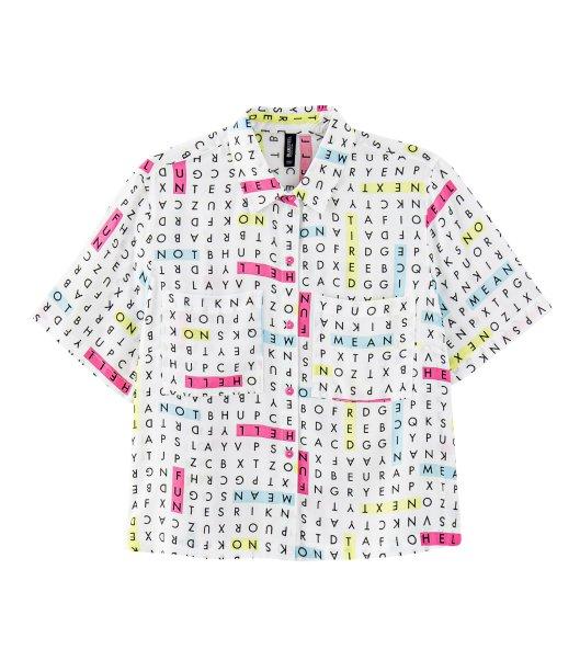 Camisa caça-palavras da Renner (R$ 89,90*).