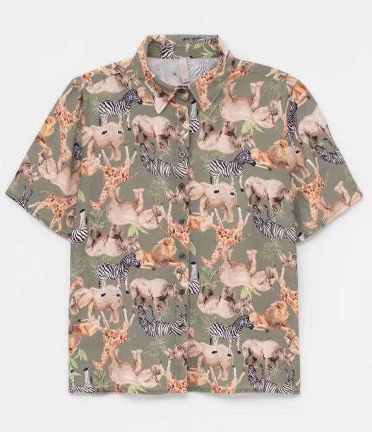 Camisa de animais da Renner (R$ 119,90*).