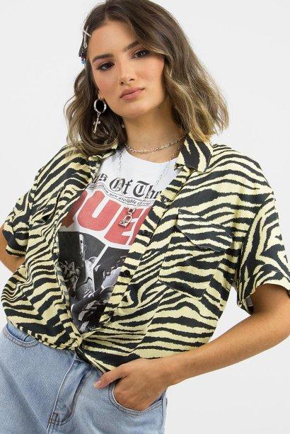 Camisa de zebra da Ziovara (R$ 119,90*).