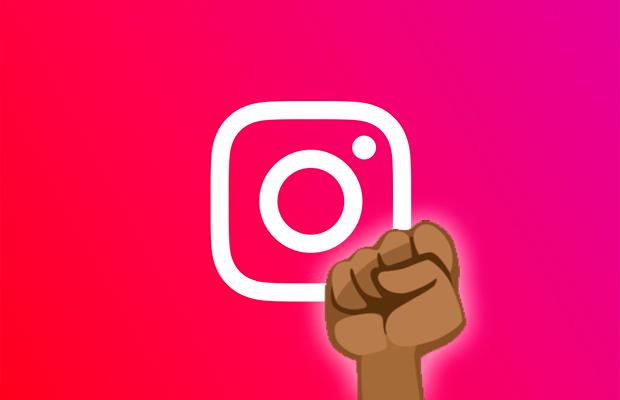 Instagram lança adesivo em homenagem ao mês da consciência negra