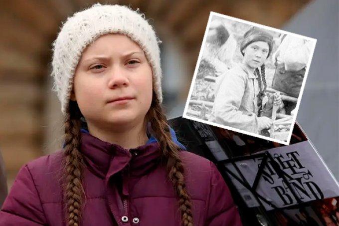 Teoria da conspiração diz que Greta Thunberg aparece em foto de 1898. Quê?