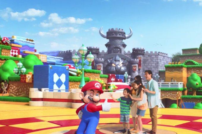 Reveladas primeiras imagens do Super Nintendo World, novidade do Universal