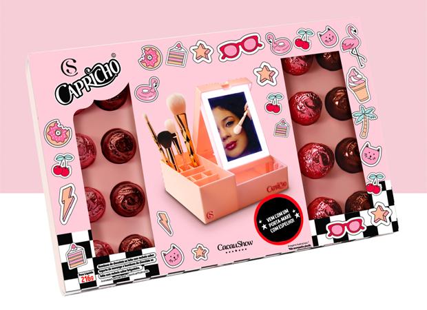porta-make-capricho-cacau-show-caixa-rosa