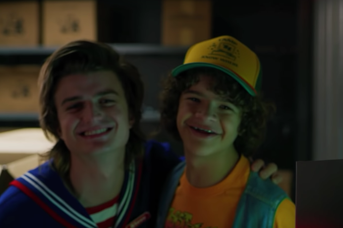 Stranger Things Gaten Matarazzo e Joe Keery