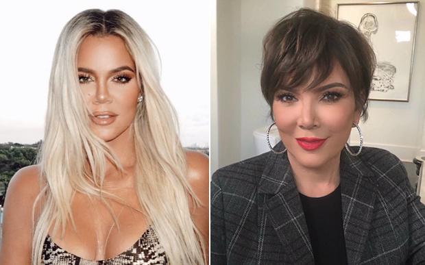 Khloe Kardashian e Kris Jenner