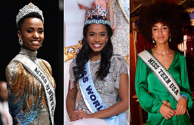 2019 termina com beleza negra reinando nos concursos de beleza pelo mundo
