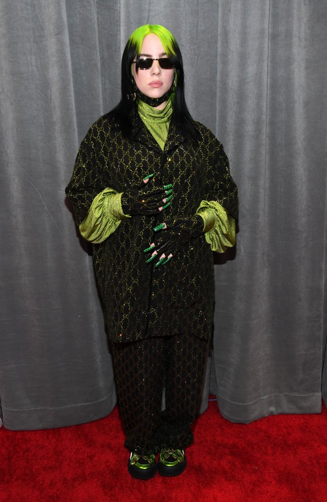 Billie Eilish no Grammy awards 2020