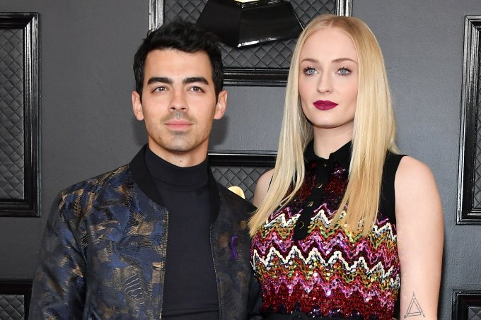 Joe Jonas e Sophie Turner no Grammy Awards 2020