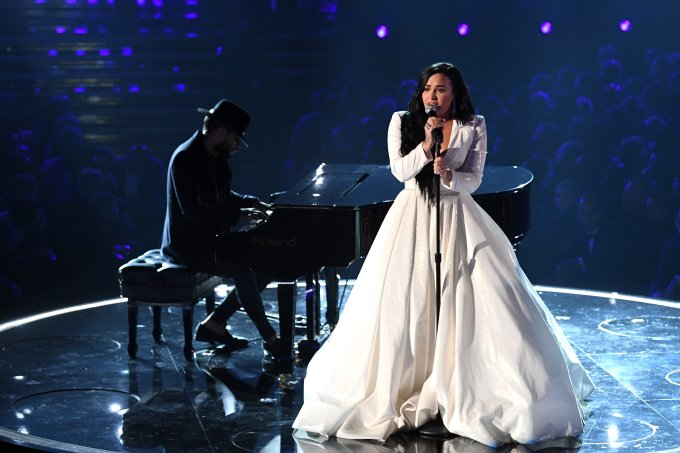 Demi Lovato Grammy 2020
