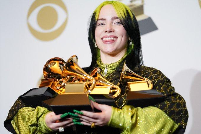 Billie Eilish Grammy Awards 2020