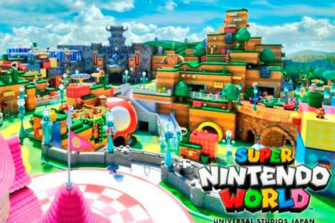 Primeiro parque temático da Nintendo já tem data de abertura!