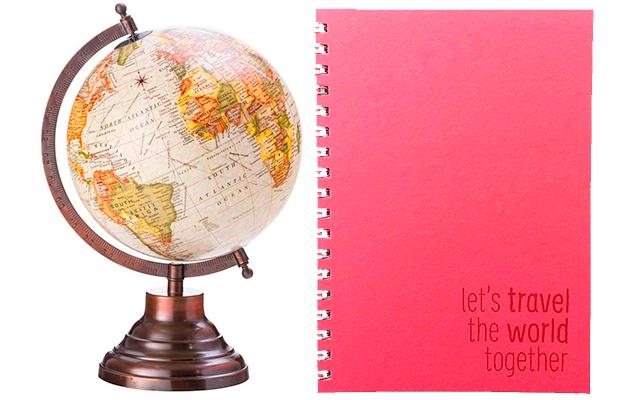 11 itens de decoração e papelaria perfeitos para quem ama viajar
