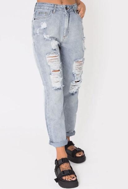 Mom jeans Ziovara (R$ 159,90*).