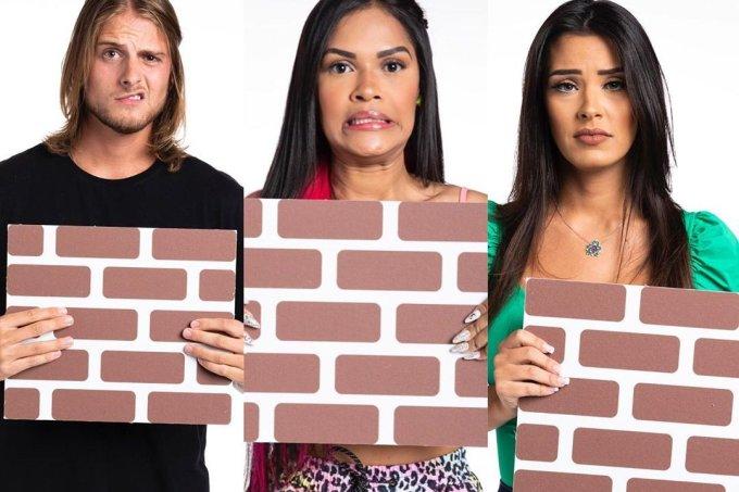 Daniel, Flay e Ivy estão no nono paredão do BBB20