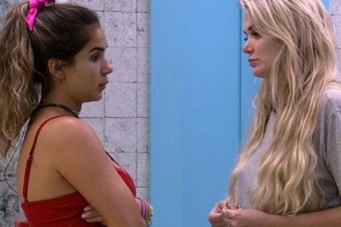 Gizelly e Marcela brigam por causa de Daniel no BBB20