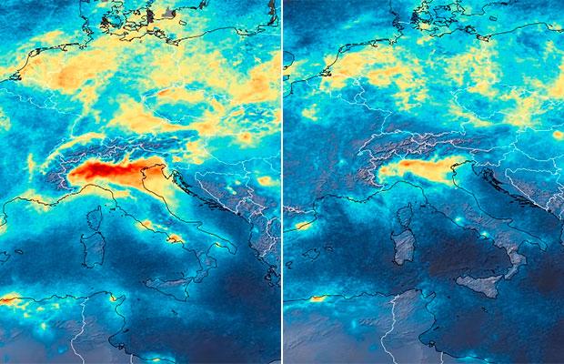 Pandemia de coronavírus causa queda global na poluição do ar; entenda!