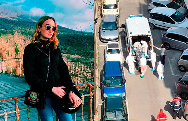 Adolescente narra rotina de isolamento na Itália por causa do coronavírus