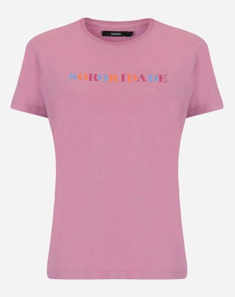 "Camiseta ""Sororidade"" da Amaro (R$ 79,90*)"