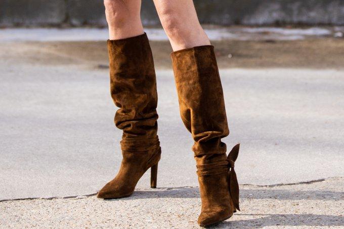 Bota slouch será tendência no outono:inverno