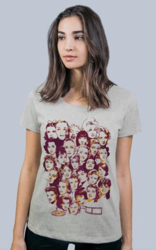 Camiseta divas do cinema da Bendita Augusta (R$ 49,90*)
