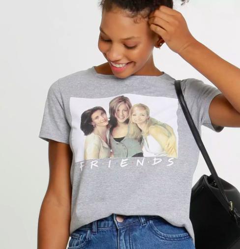 Camiseta Friends da Marisa (R$ 25,99*)