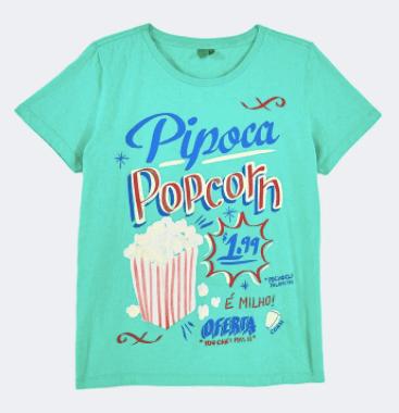 Camiseta pipoca da Farm (R$ 129*)