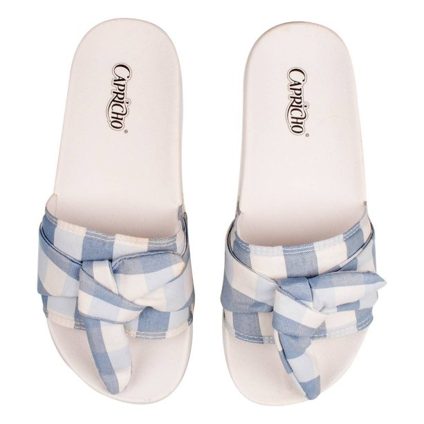 Chinelo Slide Tope, Capricho Shoes, R$ 89,90*.