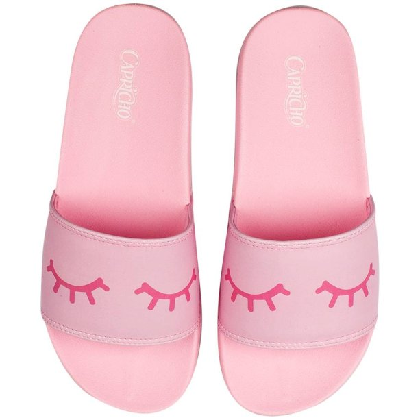 Chinelo Slide Chess Sweet Eyes, Capricho Shoes, R$ 89,90*.