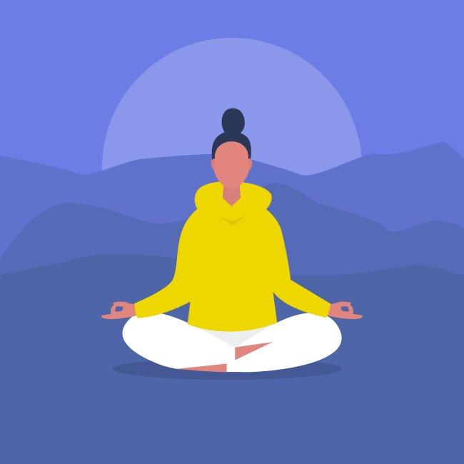 selfcare, meditação