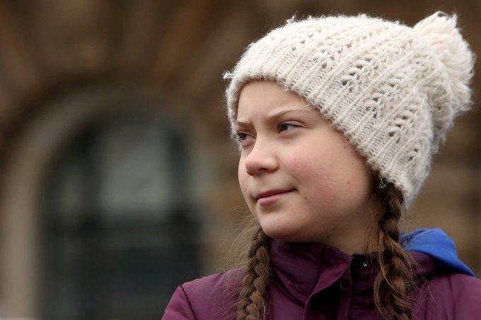 Greta Thunberg doa 100 mil dólares para combate ao coronavírus