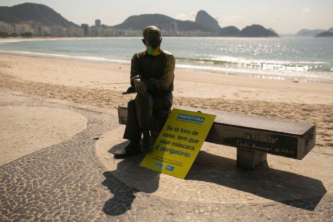 Lixo nas praias do Rio de Janeiro diminui 91% com isolamento social