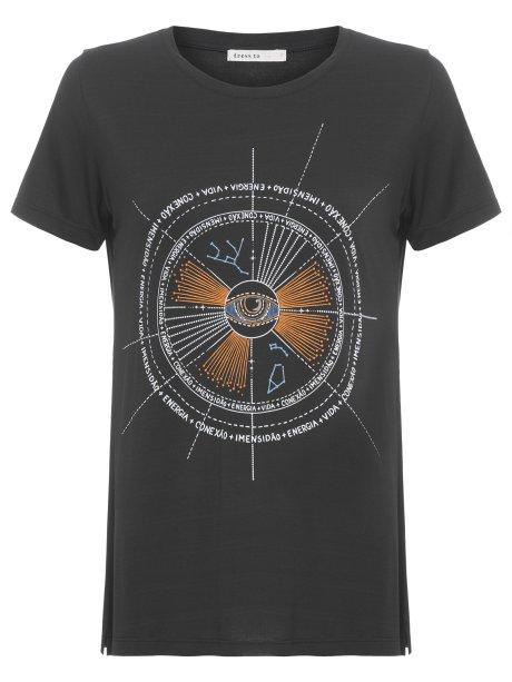 Camiseta mapa astral da Dress To/OQVestir (R$ 129*)
