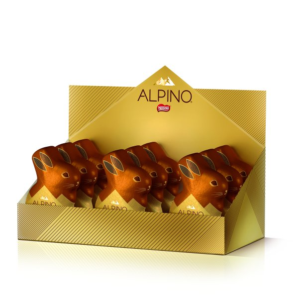 Coelho Alpino 60g (R$ 9,99* a unidade)