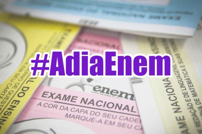 Brasil pede o adiamento do Enem, mas governo está contra o Brasil