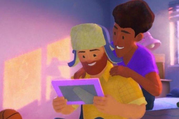 Pixar lança seu primeiro curta com um protagonista gay (e tem até beijo!)
