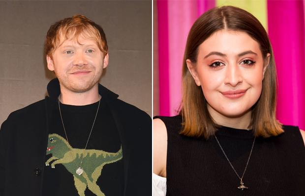 """Nasce filha de Rupert Grint, o Rony de """"Harry Potter"""", com Georgia Groome"""
