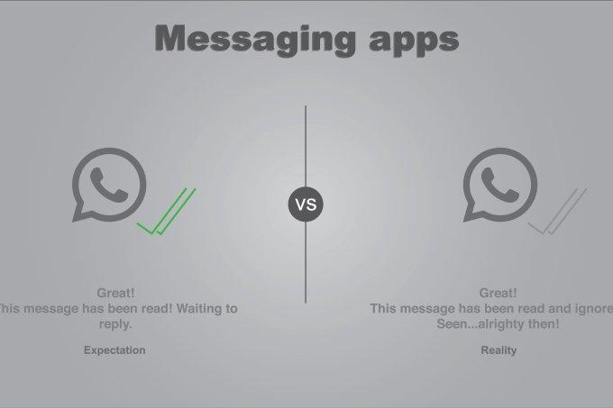 """WhatsApp finalmente tirou o status de """"online"""" ou foi uma pane no sistema?"""