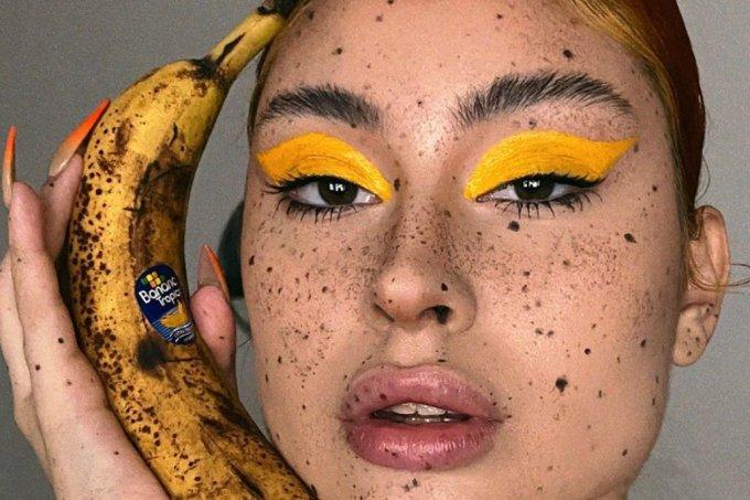 Maquiagem inspirada em fruta